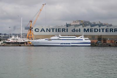 2009 - HSC ISOLA DI VULCANO in shipyard in Napoli.