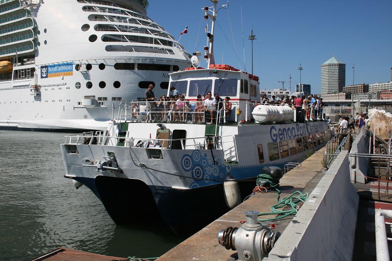 2010 - M/S MAREXPRESS : shuttle service between port and center of Genova.