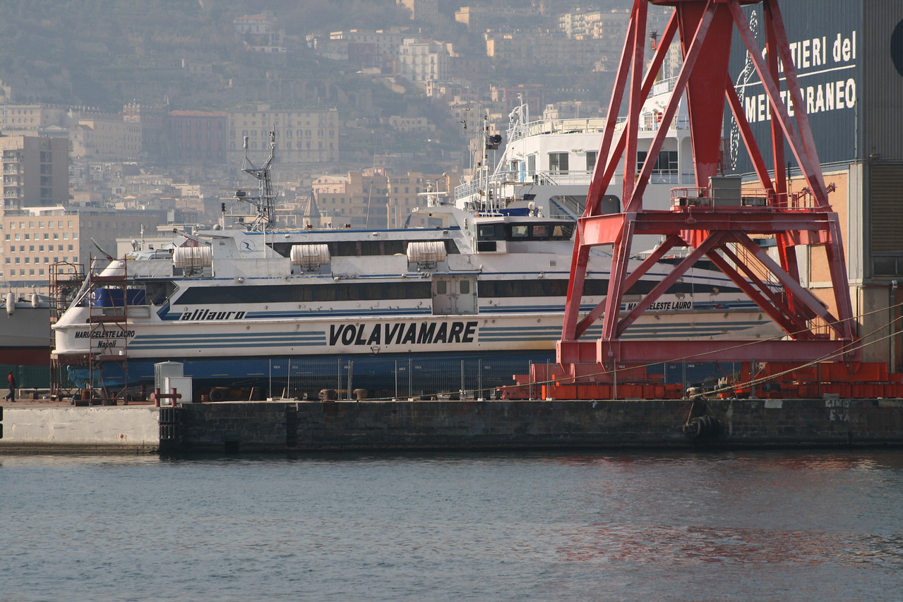 2007 - HSC MARIACELESTE LAURO in dry dock.