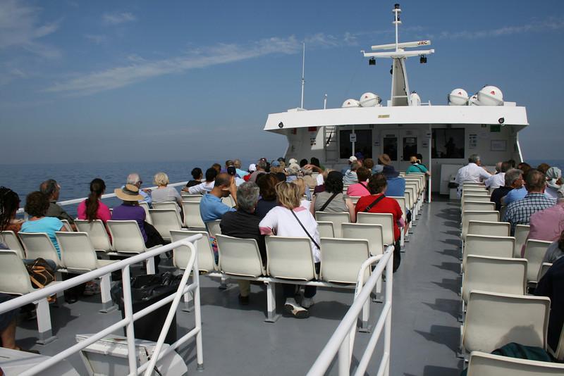 2008 - On board NAPOLI JET : upper deck.