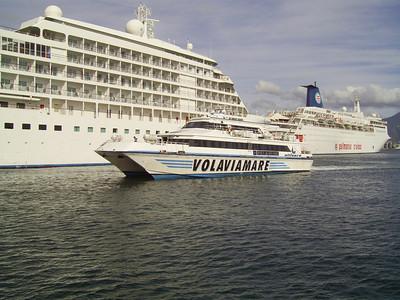 2007 - NETTUNO JET arriving to Napoli.