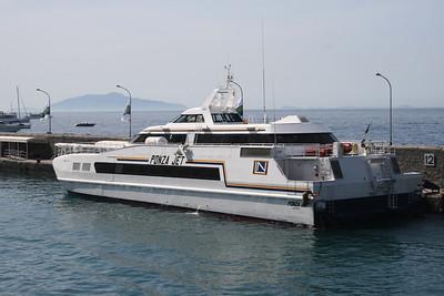 2008 - HSC PONZA JET in Capri.