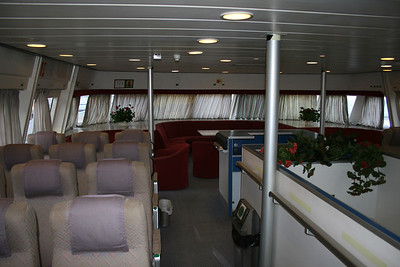 2008 - HSC PONZA JET : upper lounge.