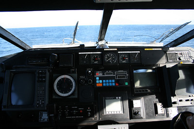 2008 - HSC PONZA JET : the bridge.
