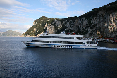 2008 - ROSARIA LAURO departing from Capri to Ischia.
