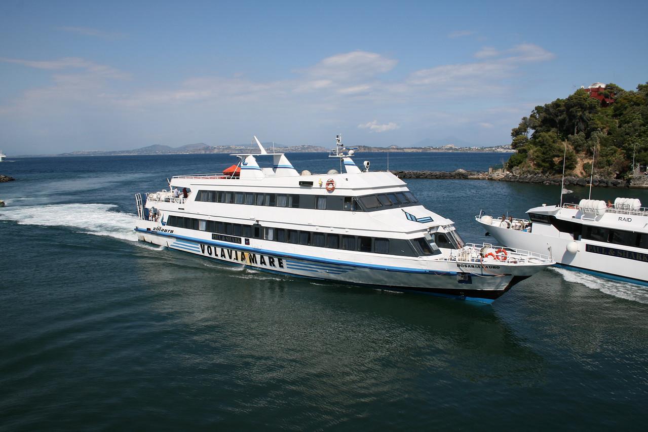 2008 - ROSARIA LAURO arriving to Ischia. Crossing RAID.
