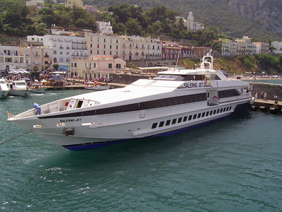 2007 - HSC SALERNO JET in Capri.