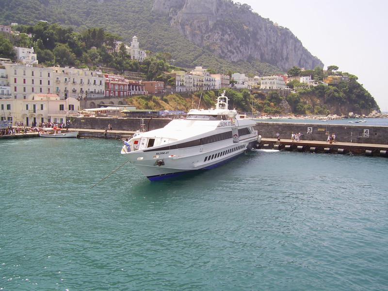 2007 - HSC SALERNO JET in Capri.