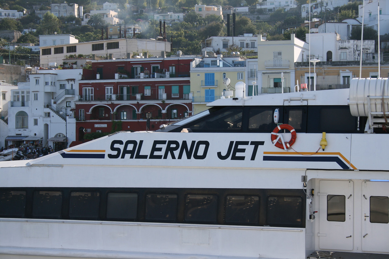 2008 - HSC SALERNO JET in Capri.