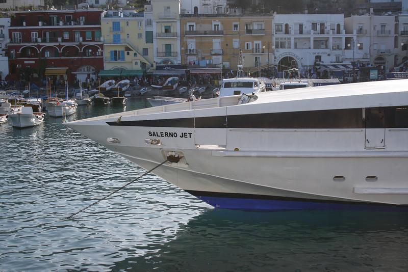 2008 - HSC SALERNO JET in Capri.