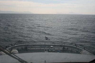 2011 - On board DSC SNAV ALCIONE : route to Capri.