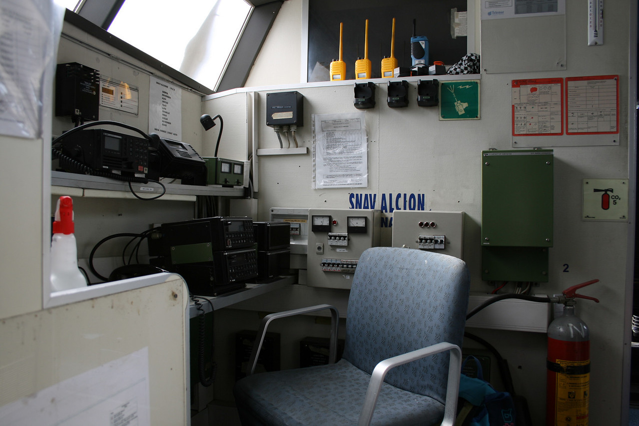 2011 - On board DSC SNAV ALCIONE : communications.