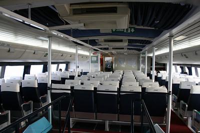 2011 - On board DSC SNAV ALCIONE : upper lounge.