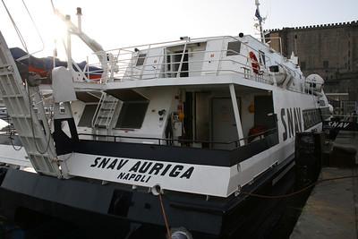 2008 - HSC SNAV AURIGA in Napoli.