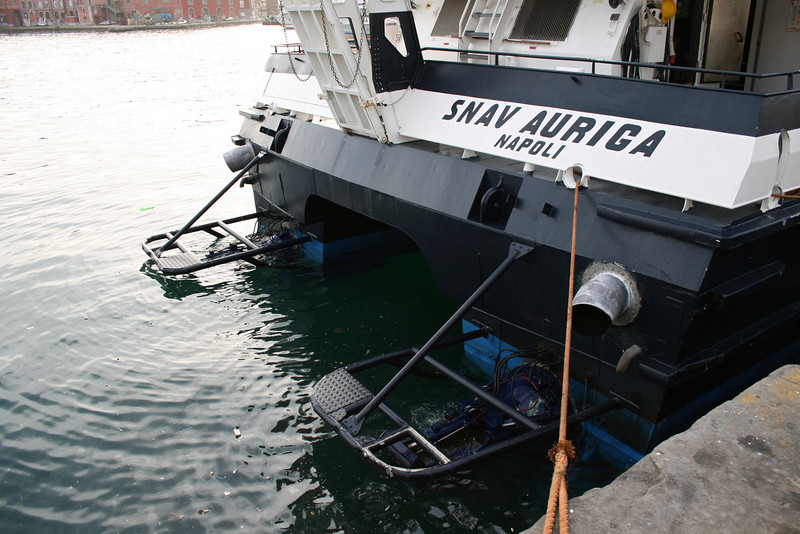2008 - HSC SNAV AURIGA moored in Napoli.