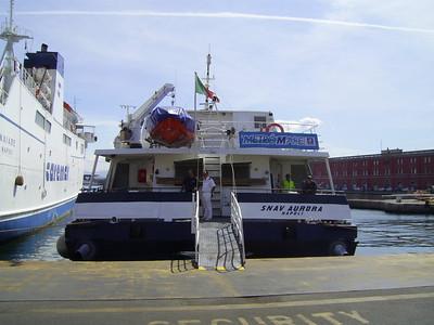 2007 - HSC SNAV AURORA in Napoli.