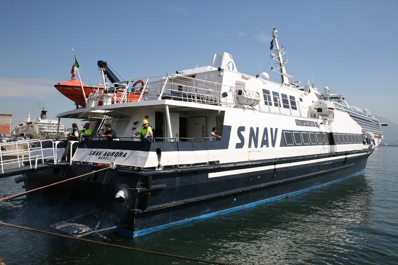 2010 - HSC SNAV AURORA in Napoli.