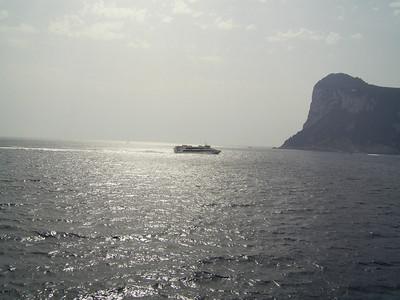 2007 - HSC SNAV ORION arriving in Capri.
