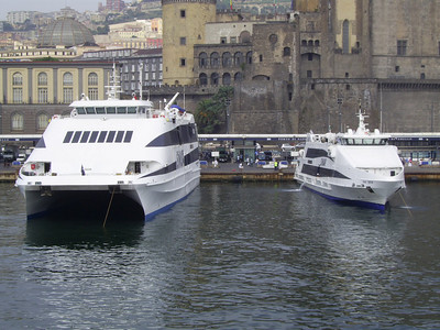 2007 - DON FRANCESCO and SNAV ORION in the port of Napoli
