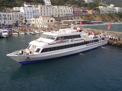 2007 - M/S SORRENTO JET in Capri.