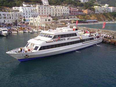 2007 - M/S SORRENTO JET in Capri.