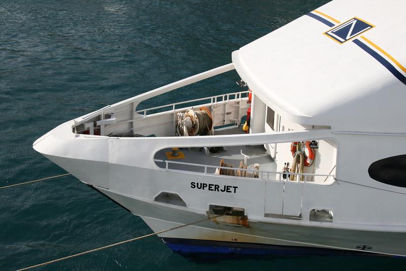 2008 - HSC SUPERJET in Capri : operating station.