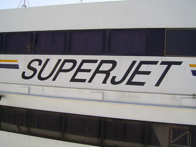2007 - HSC SUPERJET : the name on starboard side.