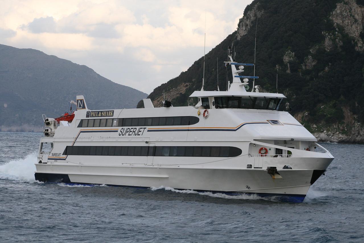 2008 - HSC SUPERJET arriving to Capri.