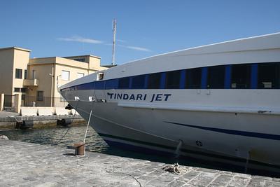 2010 - TINDARI JET in Villa San Giovanni.