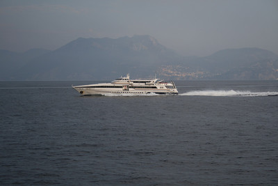 2010 - HSC VESUVIO JET at sea on Capri - Napoli route.