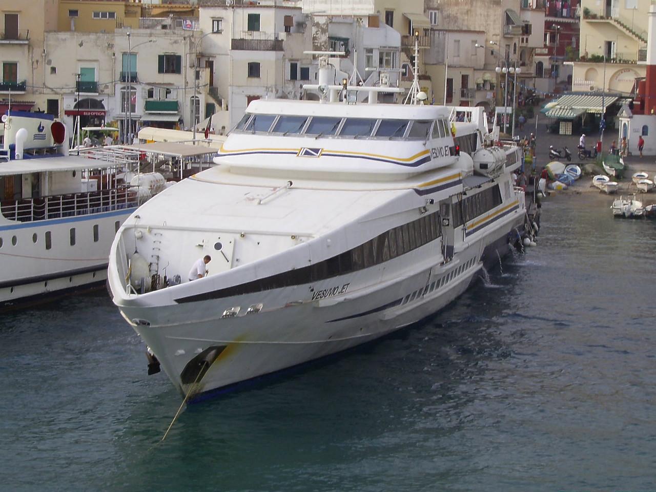2007 - HSC VESUVIO JET in Capri.