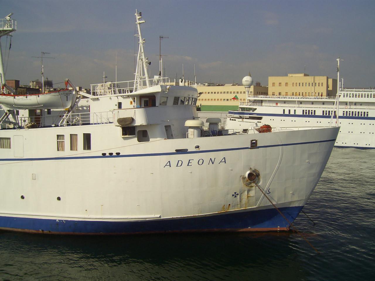 2008 - F/B ADEONA in Napoli.