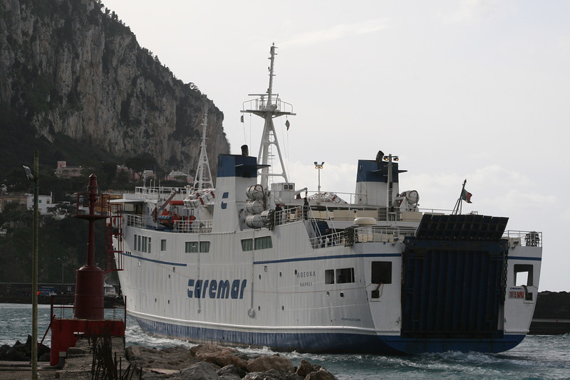 2008 - F/B ADEONA arriving to Capri.