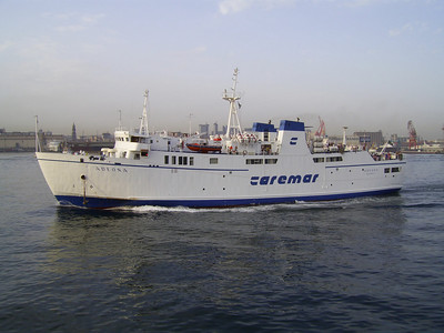 2007 - F/B ADEONA arriving to Napoli.
