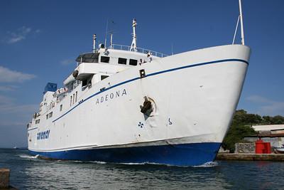 2008 - F/B ADEONA arriving to Ischia.