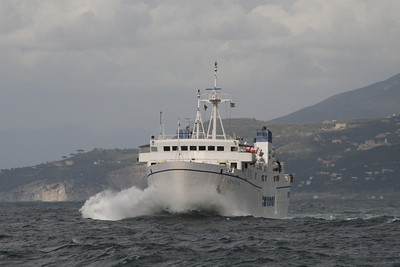 2008 - F/B ADEONA on a very bad sea.