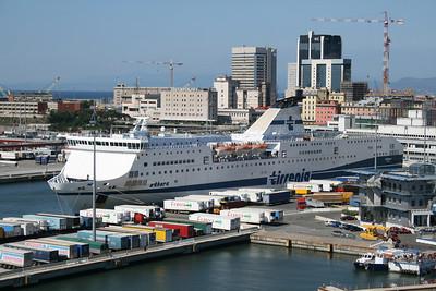2010 - F/B ATHARA in Genova.