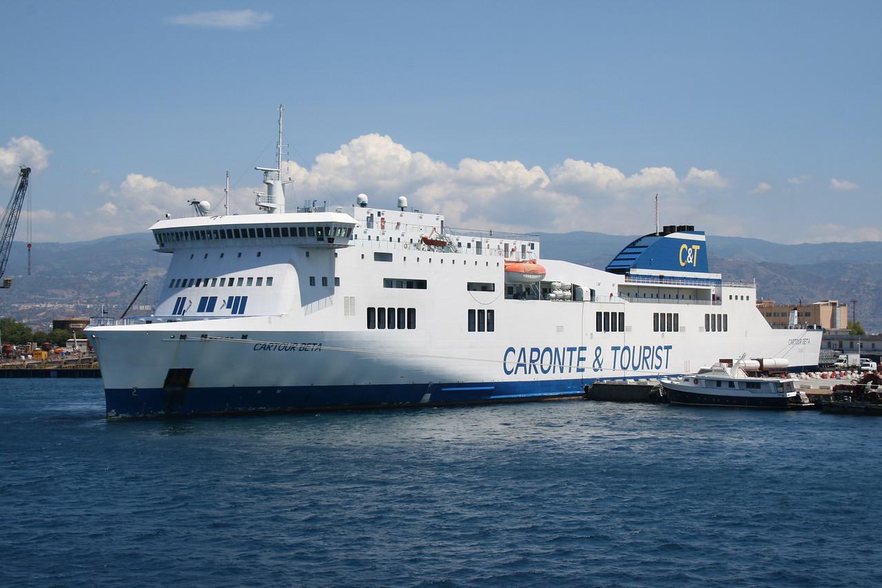 2010 - F/B CARTOUR BETA in Messina.