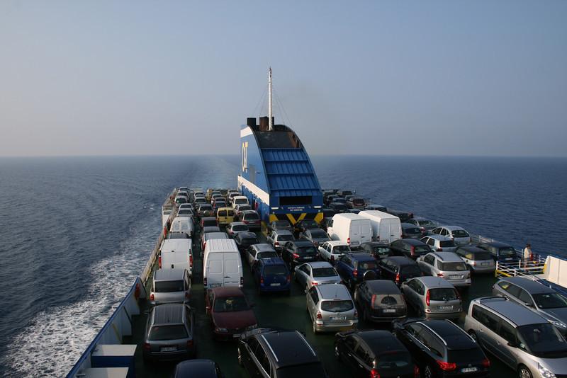 2009 - On board F/B CARTOUR GAMMA : motorway of the sea.
