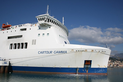 2009 - F/B CARTOUR GAMMA : the bow.