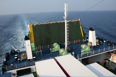 2009 - On board F/B CARTOUR GAMMA : stern operating station.