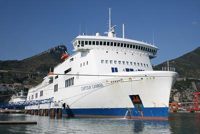 2009 - F/B CARTOUR GAMMA moored in Salerno.