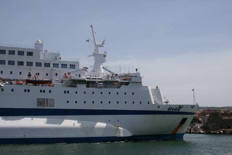 2008 - F/B CLODIA arriving to Civitavecchia.