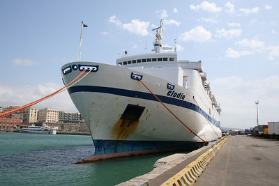 2008 - F/B CLODIA moored in Civitavecchia.