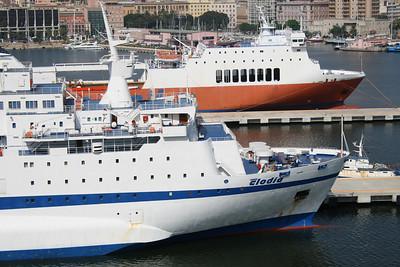 2010 - F/B CLODIA moored in Cagliari.