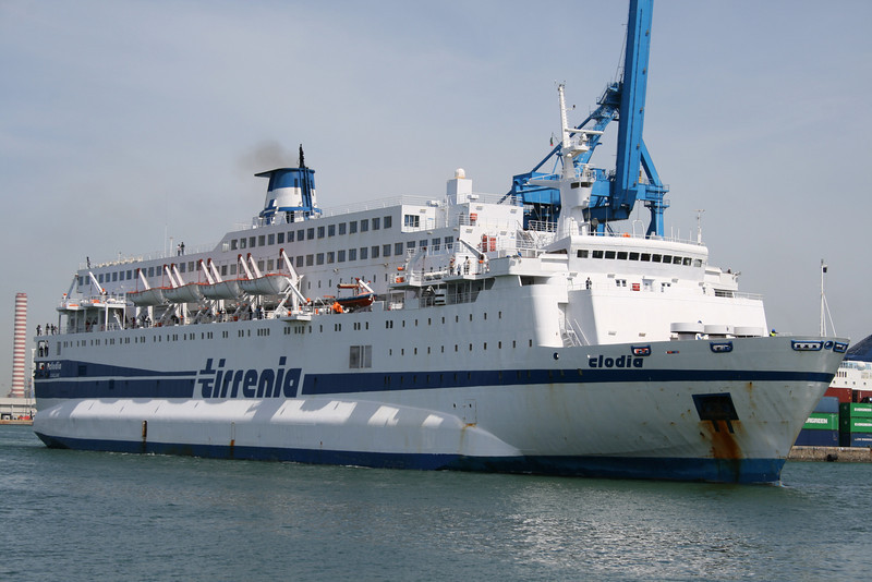2008 - F/B CLODIA arriving to Civitavecchia.