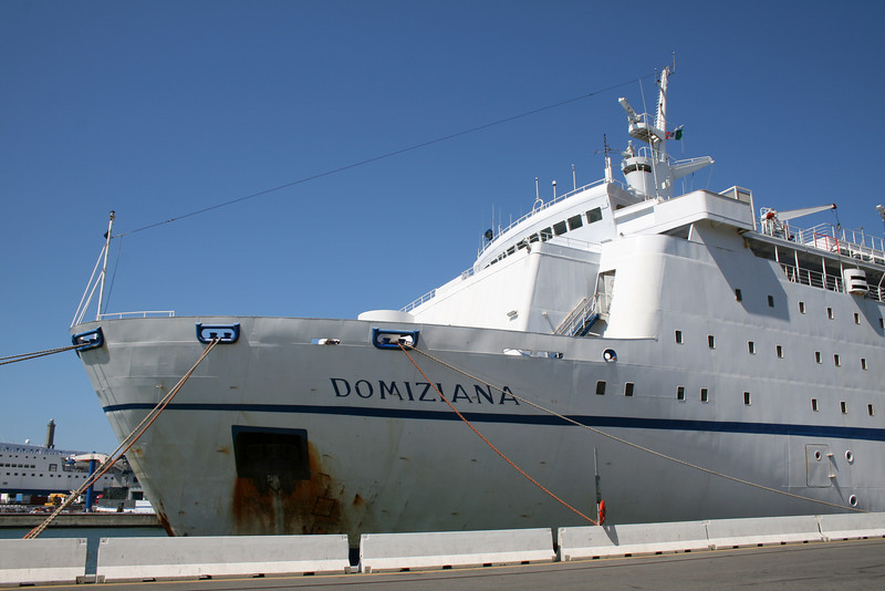 F/B DOMIZIANA in Genova.