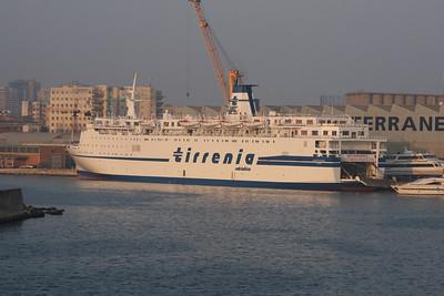 F/B DOMIZIANA at shipyard in Napoli.