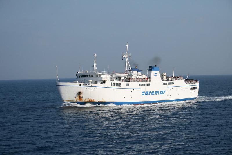 2010 - F/B DRIADE on route to Capri.