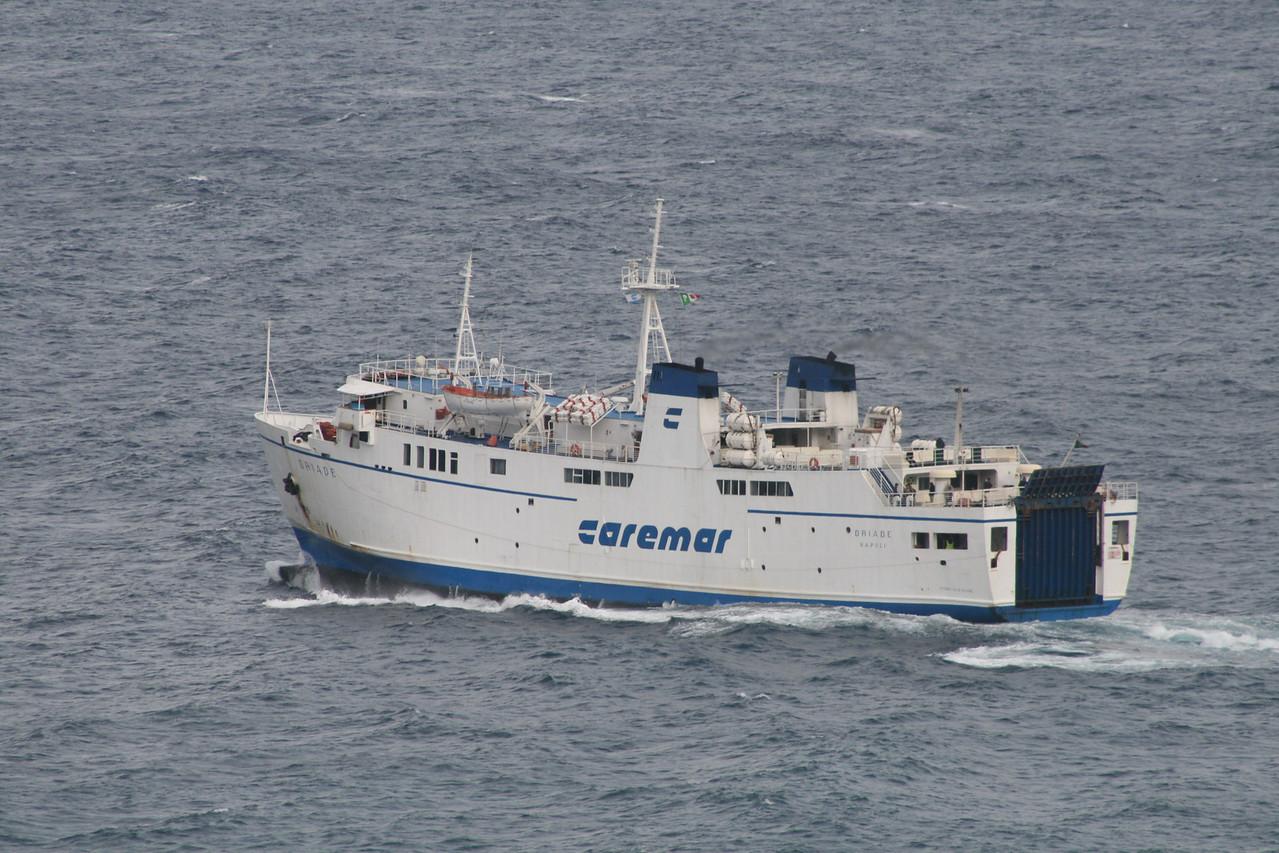 2009 - F/B DRIADE on a bad sea..